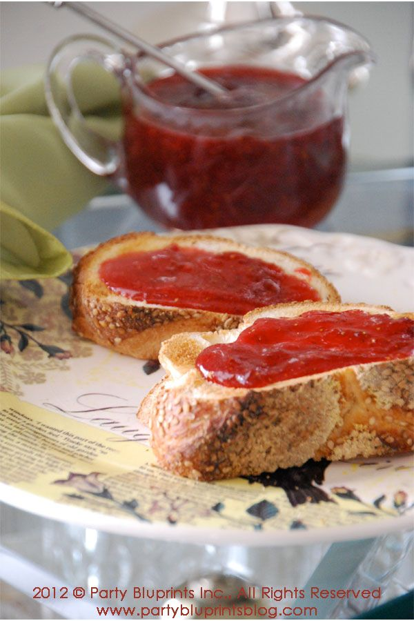 Perfect Strawberry Jam Recipe — Dishmaps