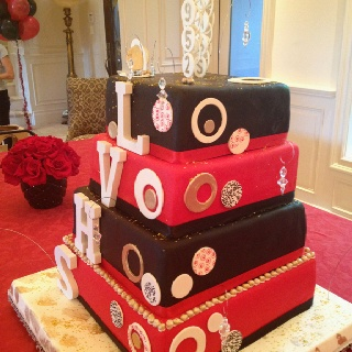 50th Class Reunion Cake Ideas and Designs