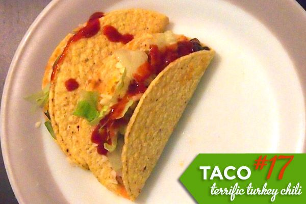 Taco #17 :: Terrific Turkey Chili Tacos | Recipes I'm actually going ...