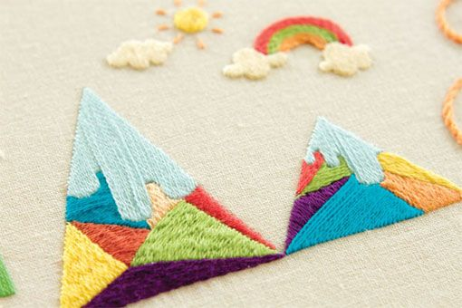 embroidered loveliness by maricormaricar.