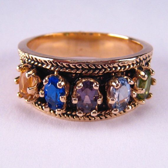Etsy Mothers Rings