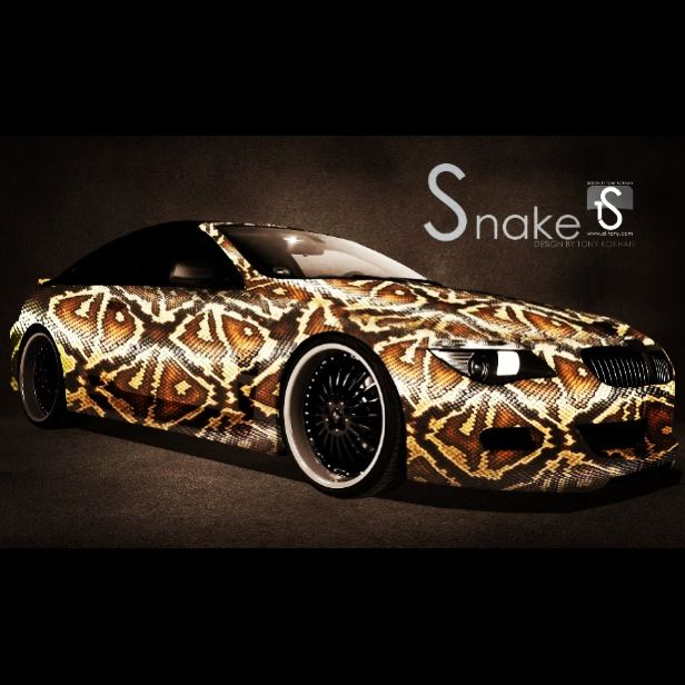 snake skin vinyl wrap bikes n cars pinterest. Black Bedroom Furniture Sets. Home Design Ideas