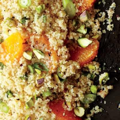 Couscous with Pistachios and Orange   Recipe