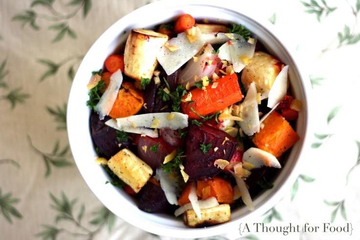 Zesty Root Vegetables with Pecorino | CSA crops: beets, carrots, sweet ...
