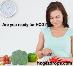 HCG Diet Drops Meal Plan