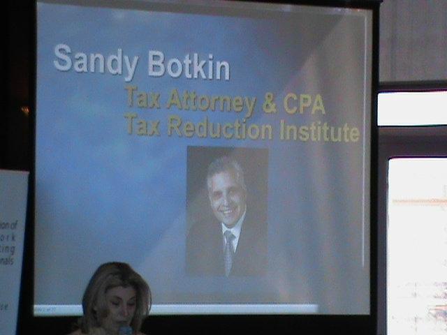 Tax Expert Sandy Botkin