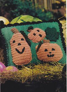 Patterns For Crocheted Halloween Potholders