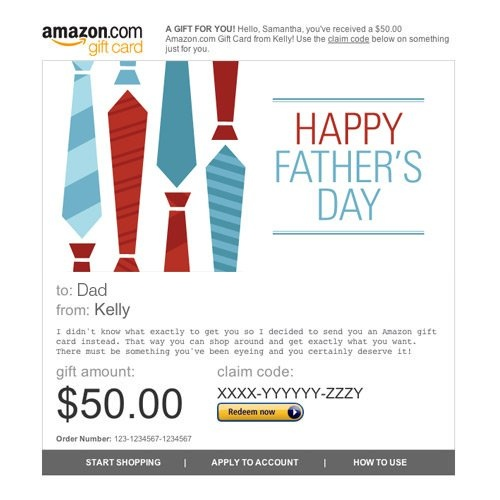 amazon father's day cards