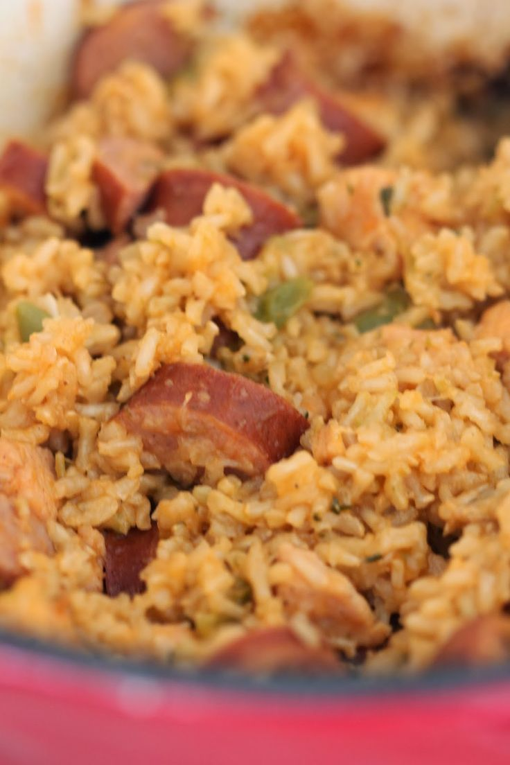 Grilled Chicken And Sausage Jambalaya Recipes — Dishmaps