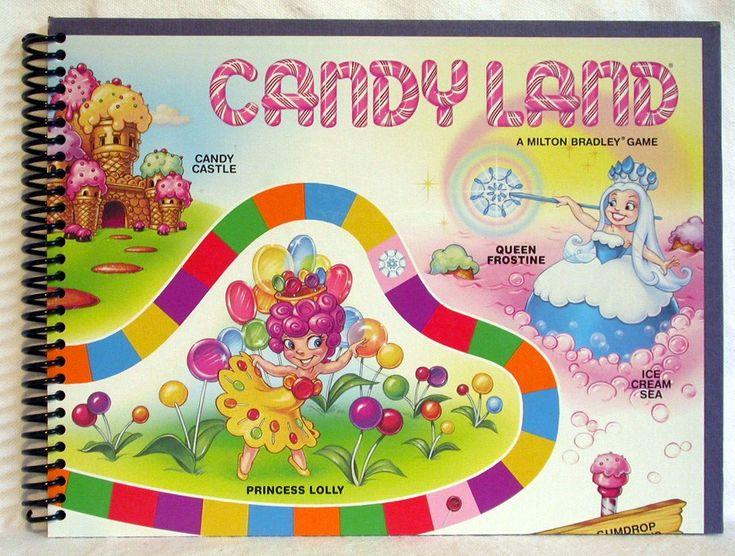 Candyland Board Layout   candyland board game pictures candyland board ...