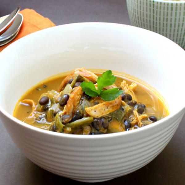 ... Pumpkin and Black Bean Soup - 10 Delicious Ways to Cook Pumpkin