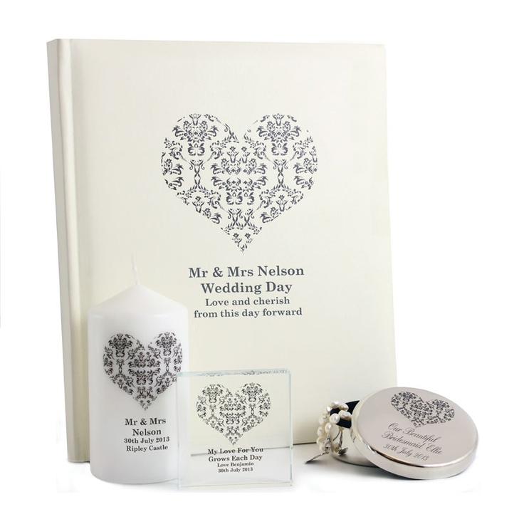 Personalised Memento offers elegantly designed gifts to the wedding ...