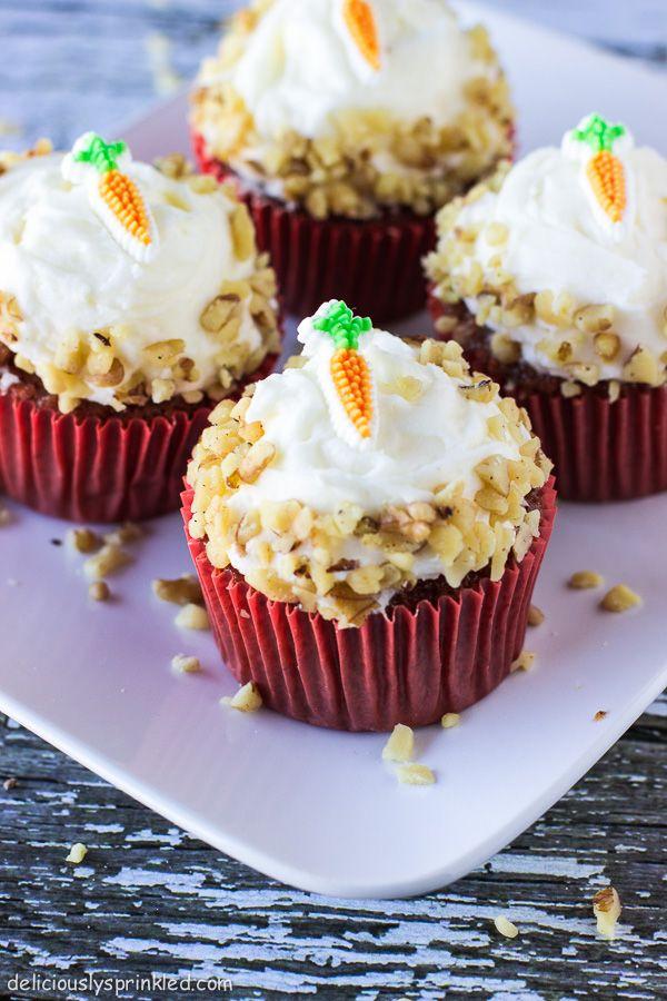 Carrot Cake Cupcakes | Recipe