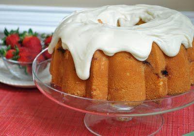 ... Cake pan. To make things like Strawberry Pound Cake with Cream Cheese