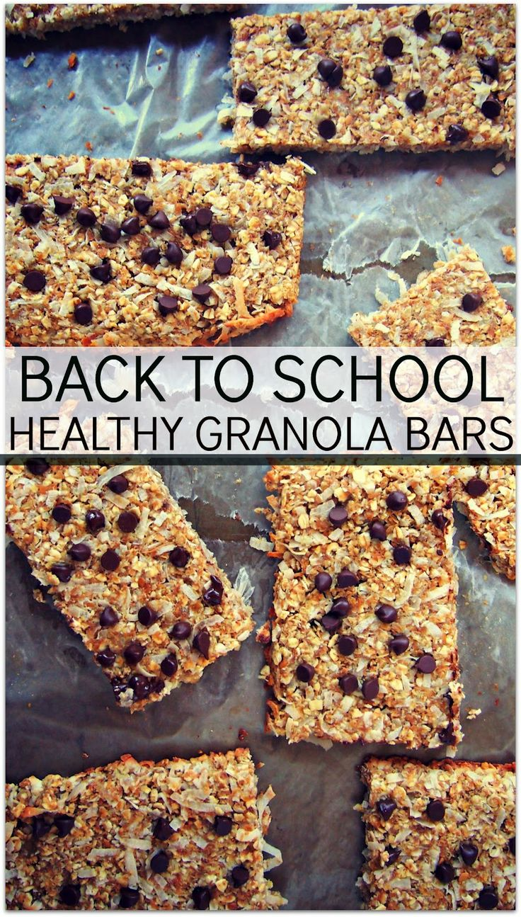 Windsor: Fab Fit Friday: Back To School Granola Bars & A Giveaway!