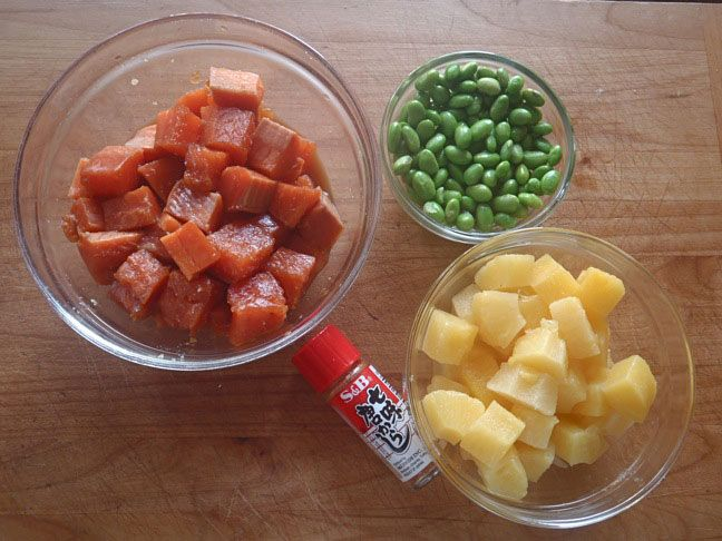 Honey Glazed Salmon Bowl with Pineapple. Coconut aminos and ...