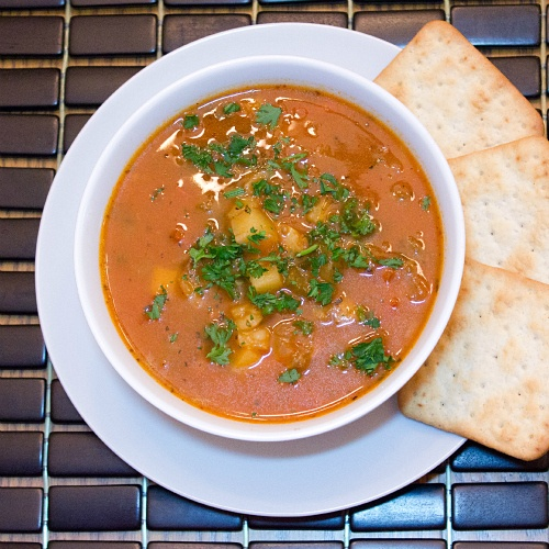 manhattan clam chowder | Soups and Stews | Pinterest