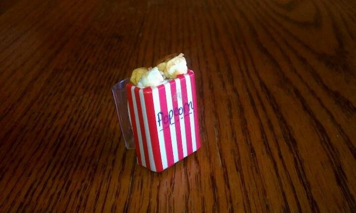 Popcorn slide! | Neckerchief Slide Ideas | Pinterest