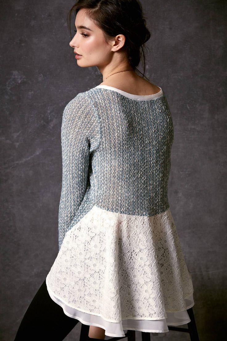 Переделываем старый свитер своими руками