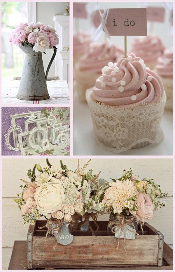 Shabby chic wedding wedding decoration pinterest for Shabby chic wedding reception decorations