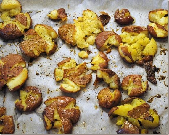 Roasted Smashed Potatoes | Recipes | Pinterest