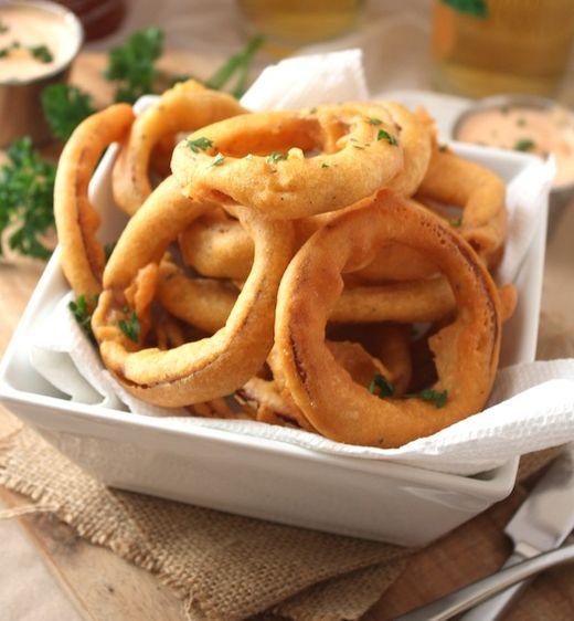 Gluten Free Onion Rings | Get Healthy | Pinterest