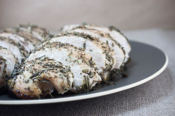 Herb roasted Turkey breast - for those of us without dozens to feed ...