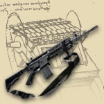 d day machine guns
