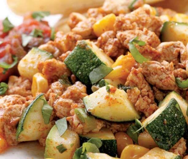 Southwestern Tofu Scramble | Low Carb & Low Calorie Savory | Pinterest