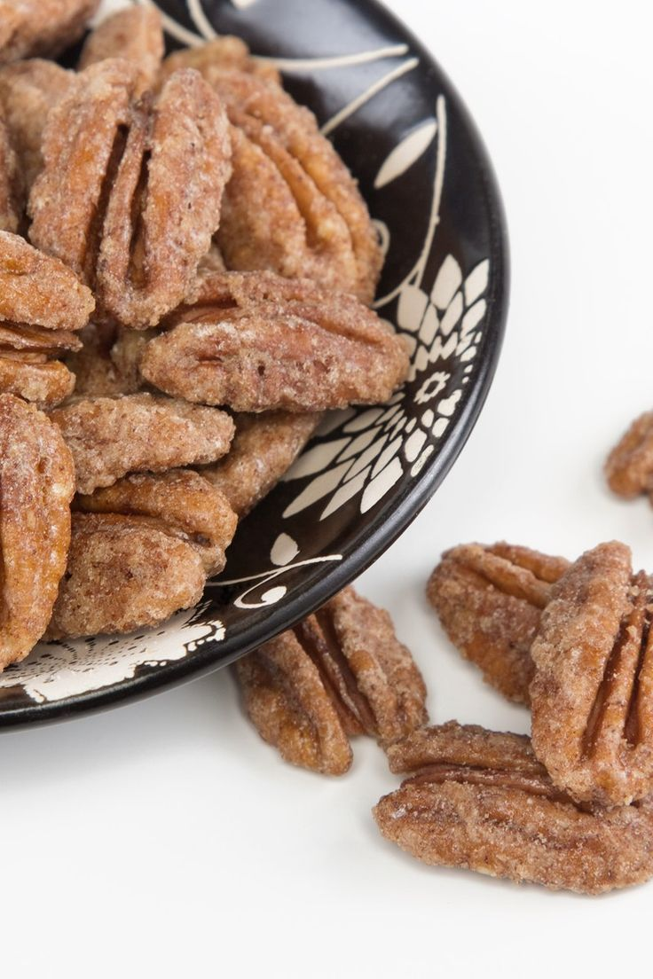 Sugar Coated Pecans Recipe | Appetizers/Party Fare | Pinterest