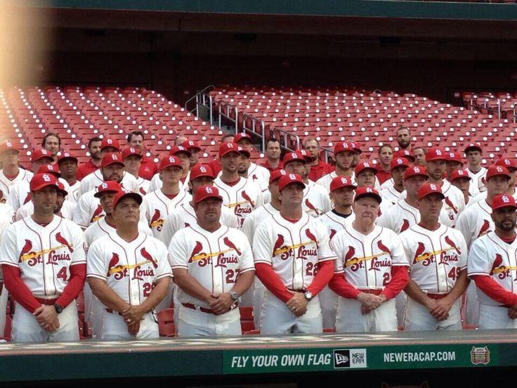 St louis cardinals 2013 team picture