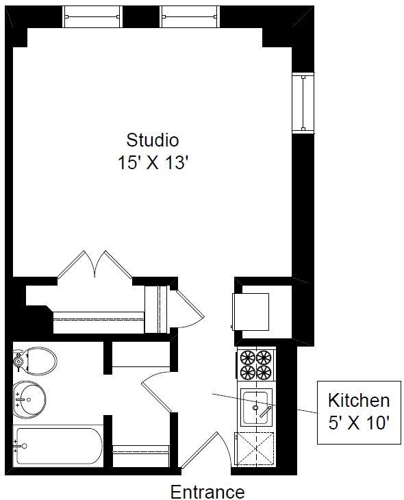 Apartment Layout 375 Sq Ft Ummm Yum Pinterest