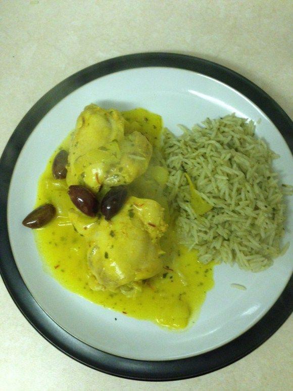 Saffron and Lemon Chicken | Madame Gourmand | Pinterest