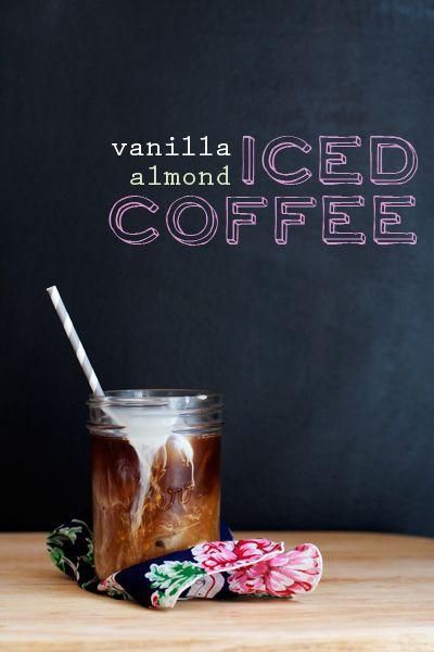 Vanilla-Almond Iced Coffee