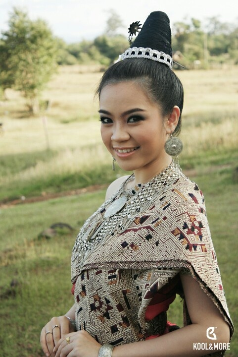 Laos girl   cultures   Pinterest