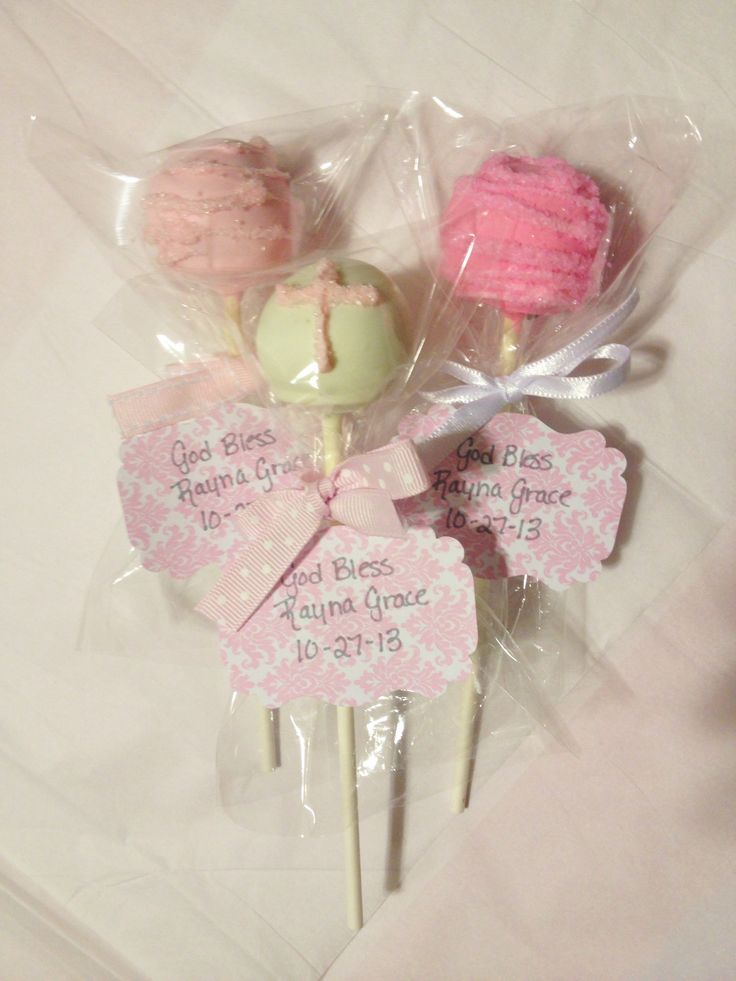 Baptism cake pops PARTY ideas: Christening/baby shower ...