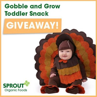... Blessings: Sprout Organic Foods: Gobble & Grow Toddler Snack Giveaway