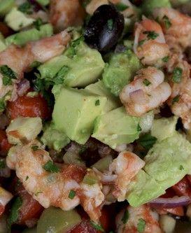 Shrimp Salsa | Cinco de mayo | Pinterest