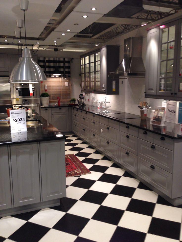 Best Ikea Grey Kitchen Home Style Pinterest 400 x 300