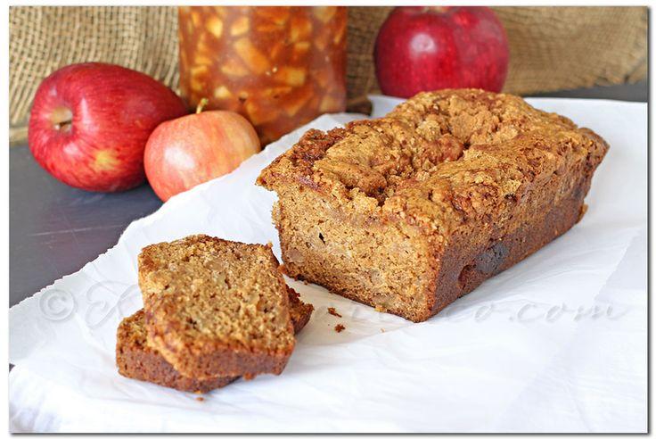 Caramel Apple Spice Bread, fall recipes, apple bread