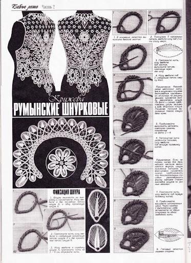 Duplet Magazine #103 - Romanian Point Lace crochet