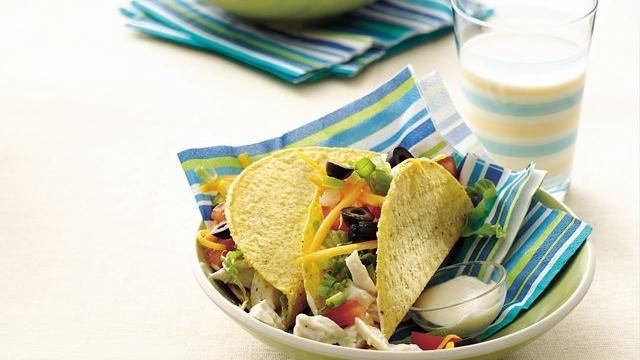 Ranch-Style Chicken Tacos | Recipe