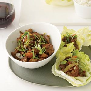 Stir-Fried Five Spice Pork with Lettuce Cups. Melissa Rubel Jacobson ...