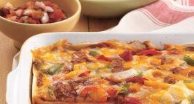 Chicken Fajita Casserole | Dinners | Pinterest