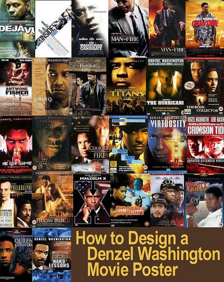 Denzel Washington S Movie Posters MAN ON FIRE DENZEL WASHINGTON