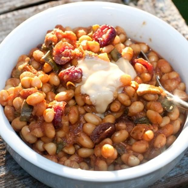 Canadian Maple Baked Beans | Vegetables and Sides | Pinterest