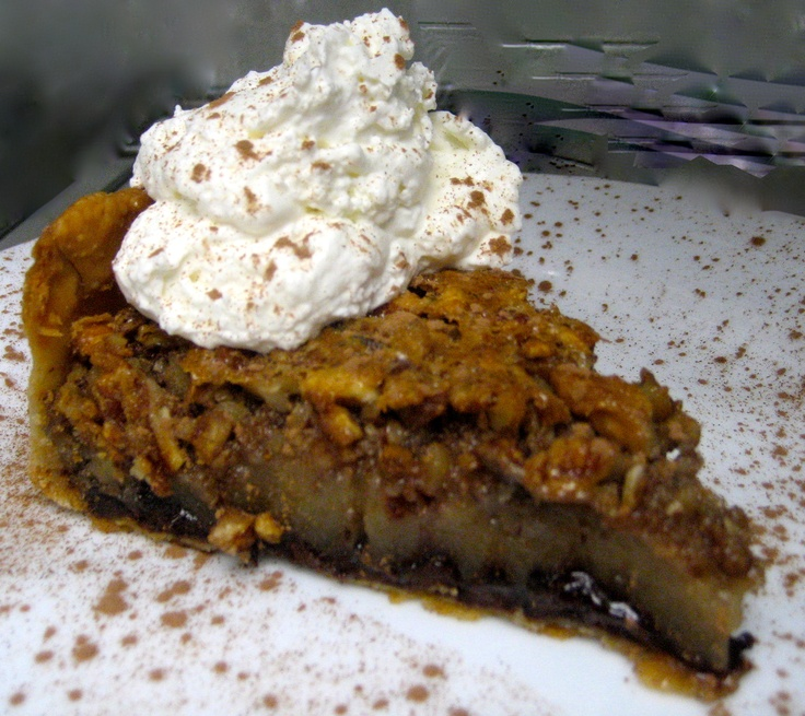 Chocolate Bourbon Pecan Pie | Lowcountry Food Favorites | Pinterest