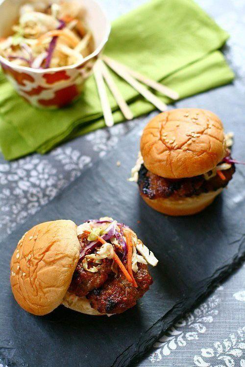 Crispy Five-Spice Pork Belly And Braised Pork Shoulder With Asparagus ...