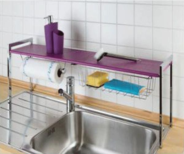 Shelves Above Kitchen Sink: Pin By T. Fullwood On Rainbow Kitchen