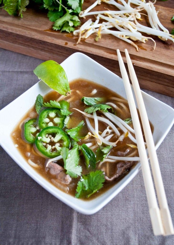 Pho Bo - I made this last night and it was DELICIOUS!!! This is one of ...
